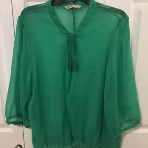 BNWT Old Navy Green Blouse